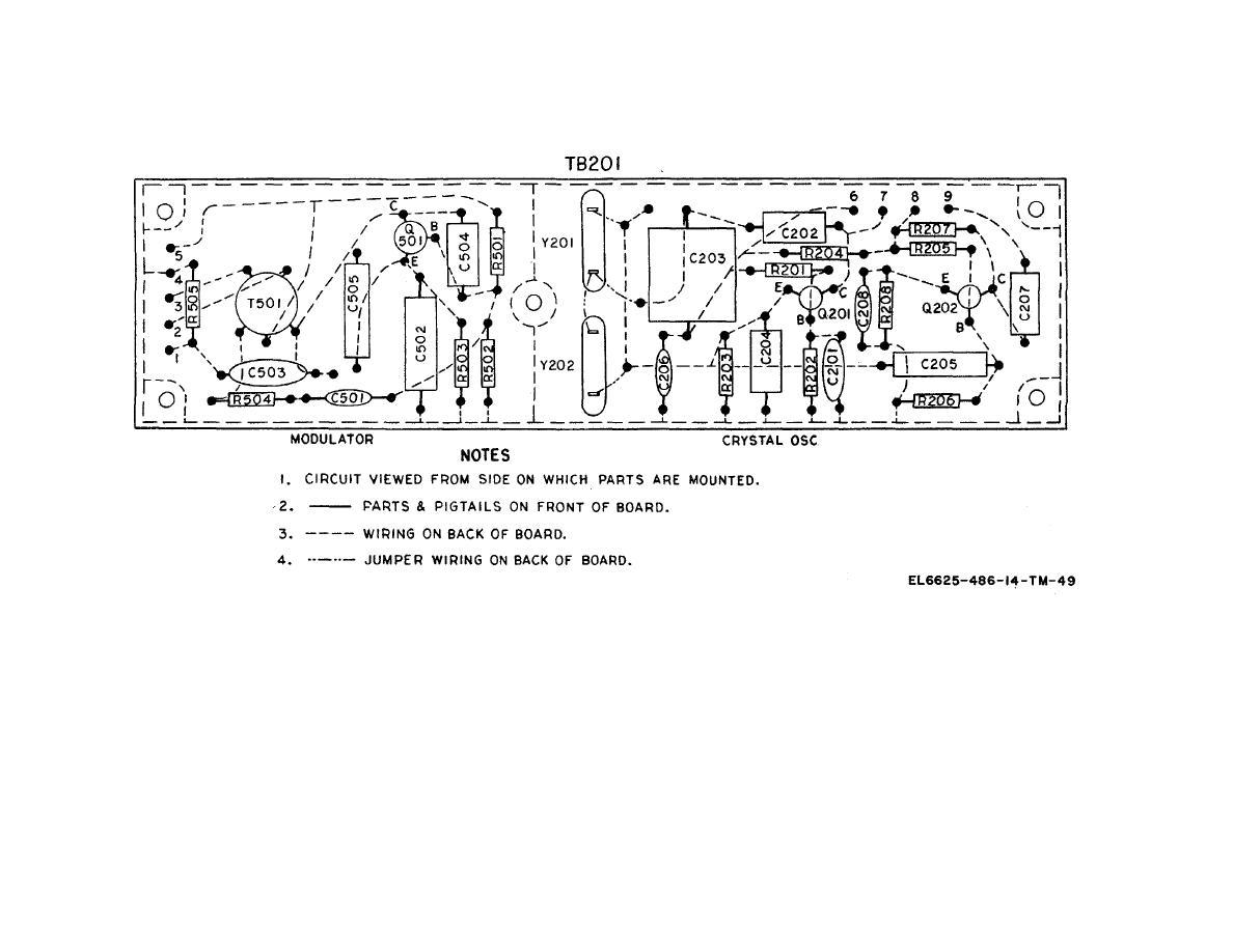 Figure 6 28 Fr 149 Usm 159 Crystal Oscillator And Modulator Circuit Wiring Diagram
