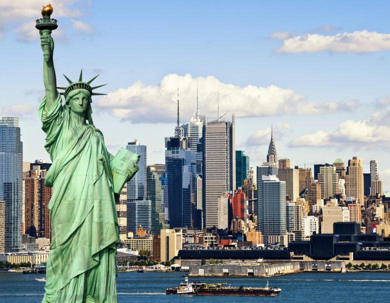 vekst blant nordmenn New York-ruten