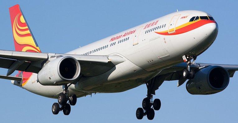 hainan airlines Oslo Beijing ruten