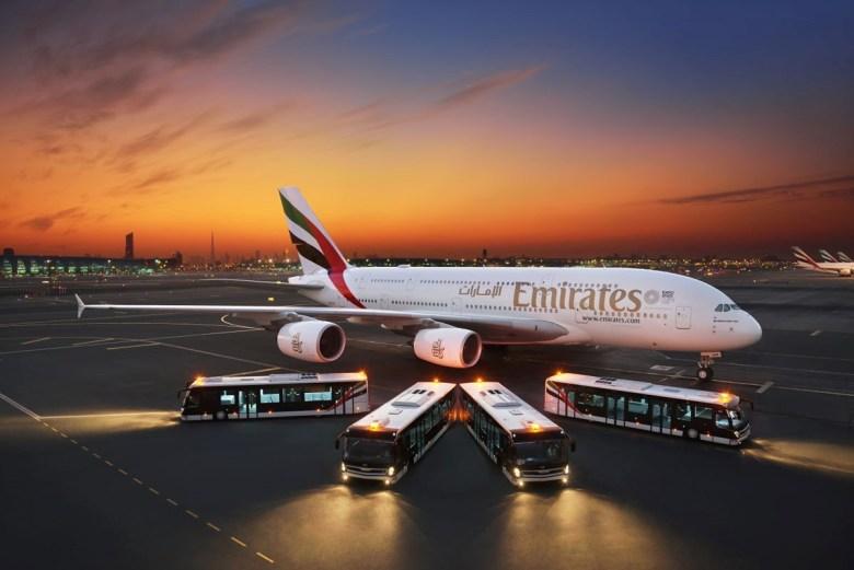 Emirates åpner romjuls Emirates vinner prisen