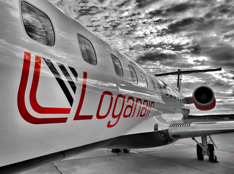 Loganair overtar Newcastle