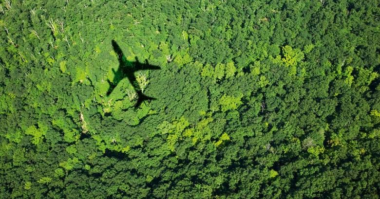 klimaavgift på flyreiser fra Danmark