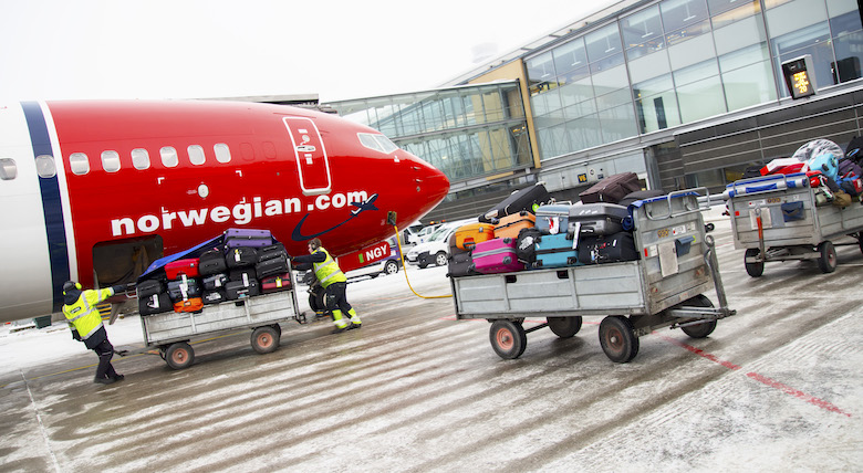 Norwegian positive Fjerde måned med passasjerfall Passasjervekst og høyere punktlighet fyllingsgrad og enhetsinntekter
