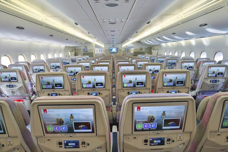 Emirates vinner prisen for Beste Underholdning