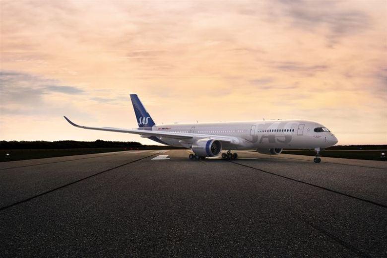 SAS med nytt design på flyene