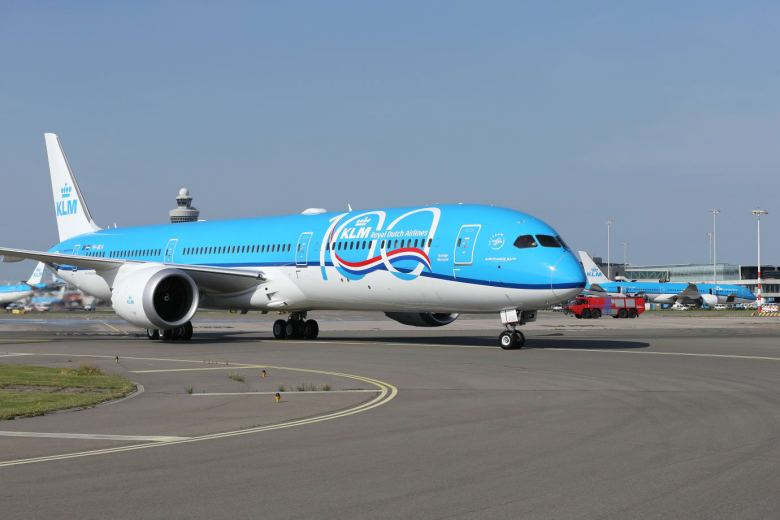I dag feirer KLM