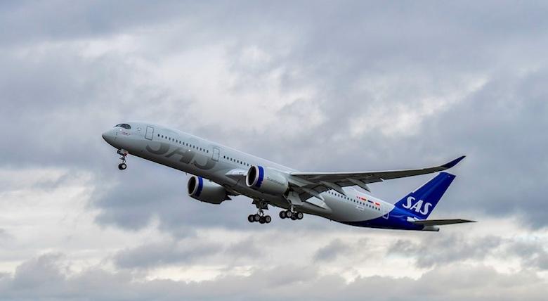 SAS første Airbus A350