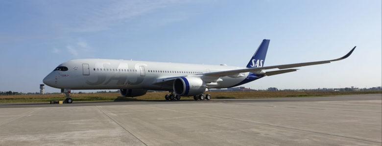 SAS A350XWB legger