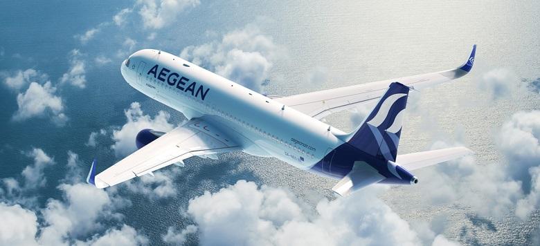 Aegean Airlines - Airbus A320neo i ny drakt Aegean Airlines i ny drakt