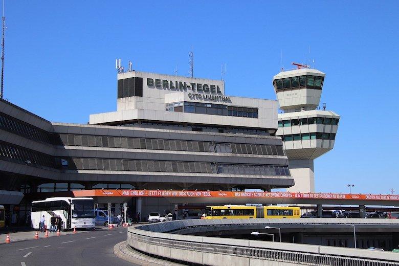Stor flyplass