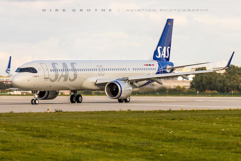 SAS første A321LR Jarl Viking