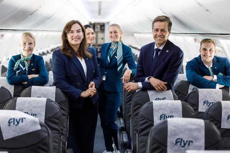 Det nye norske flyselskapet Flyr