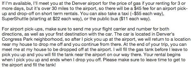 """Airport Pickup"""