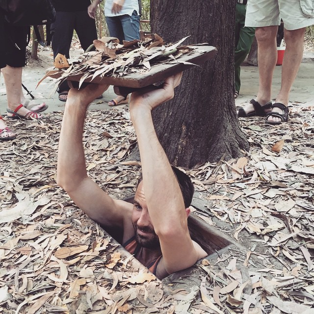 Cu Chi Tunnels Outside of Saigon