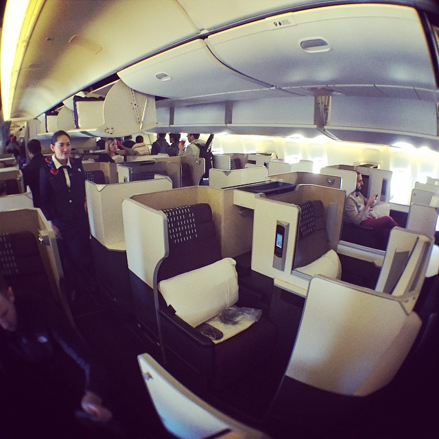 Japan Air Business Class