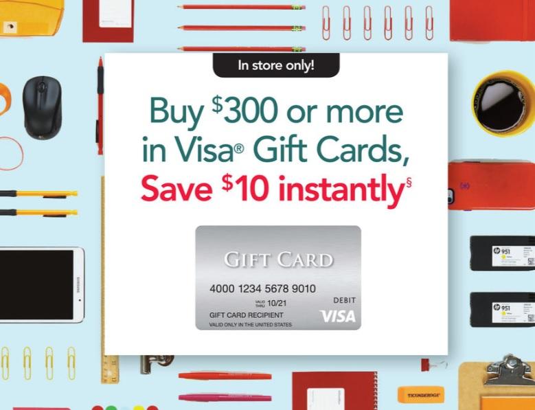 office depot visa card discount - Buy Visa Gift Card Online Instant