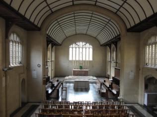 l'église de Blackfriars (couvent des dominicains) à Oxford