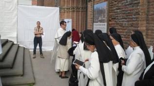Le frère Olivier (Lille) prêche aux sœurs