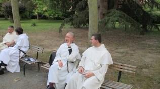 Frère Antonio Ryo (Strasbourg) et frère Kliment (Toulouse)