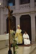 La messe était présidée par Monseigneur Pierre Raffin, évêque émérite de Metz