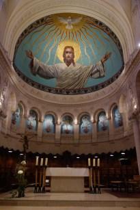 Chœur de l'église du couvent de l'Annonciation à Paris