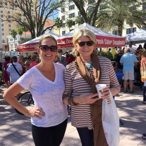 Martha Stewart Visits West Palm Beach GreenMarket