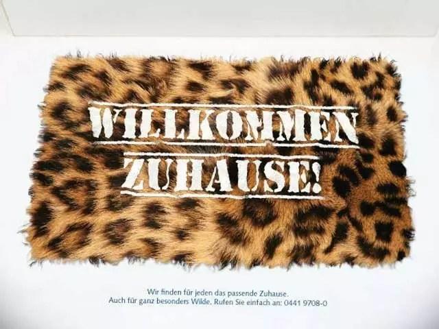 Immobiliendienstleister GSG – Anzeigenkampagne – Willkommen Zuhause