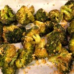 Cheesy Roasted Broccoli