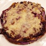 Roasted Garlic Parmesan Cabbage Steaks