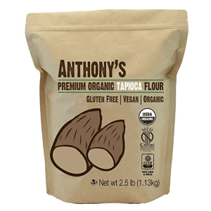 Anthony's Tapioca Flour, 2.5 lb Bag