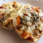 Italian Egg Cups with Peppers and Spinach
