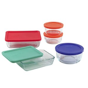 Pyrex Containers, 10-pc Set