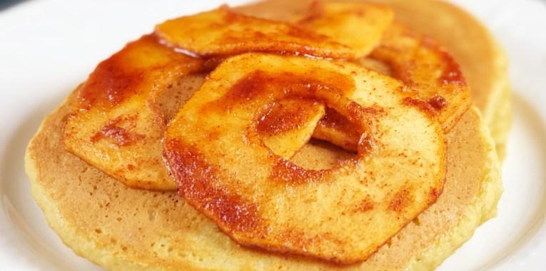 Apple Surprise Pancakes