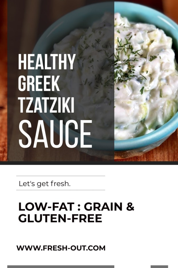 HEALTHY GREEK TZATZIKI SAUCE