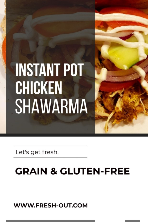 Instant Pot Chicken Shawarma