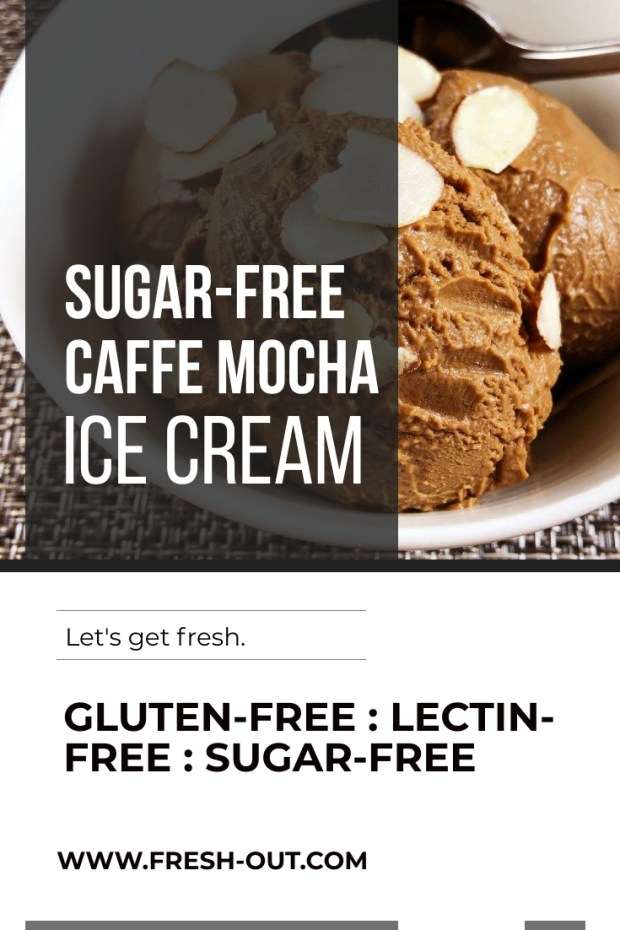 SUGAR-FREE CAFFE MOCHA ICE CREAM