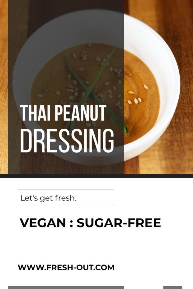 THAI PEANUT DRESSING