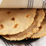 Cassava and Coconut Flour Tortillas