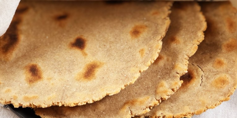 Cassava and Coconut Flour Tortillas