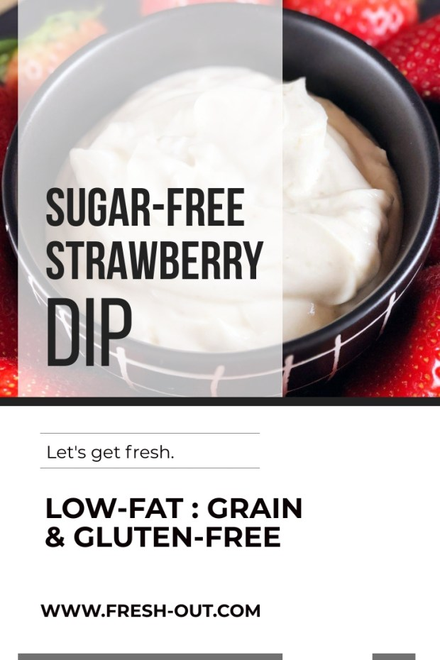 SUGAR-FREE STRAWBERRY DIP