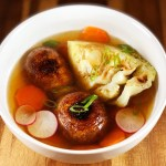Double Dashi with Vegetables