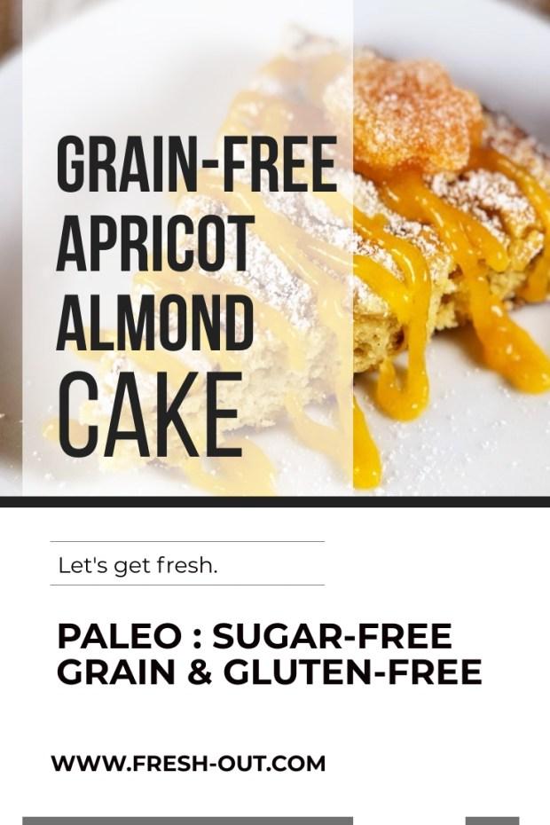 GRAIN-FREE APRICOT ALMOND CAKE