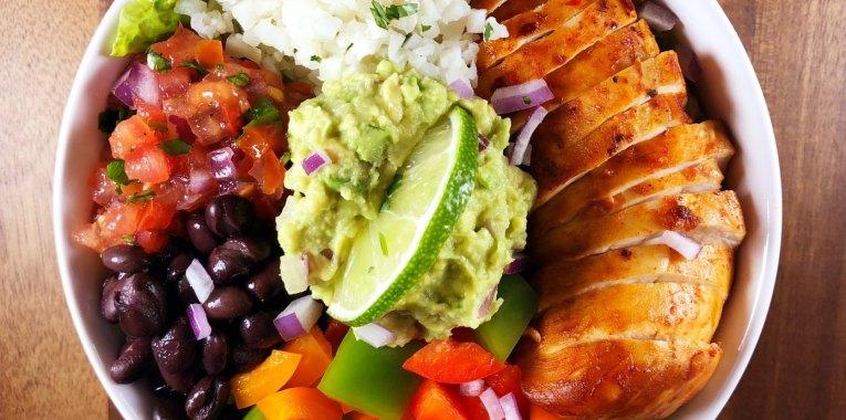 Grain-Free Chipotle-Lime Burrito Bowl