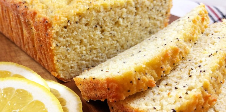 Light and Fluffy Lemon Pound Cake