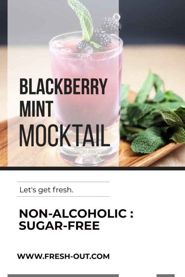 BLACKBERRY MINT MOCKTAIL
