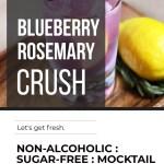 BLUEBERRY ROSEMARY CRUSH MOCKTAIL