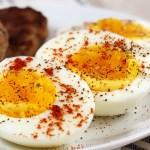 Custardy Boiled Eggs