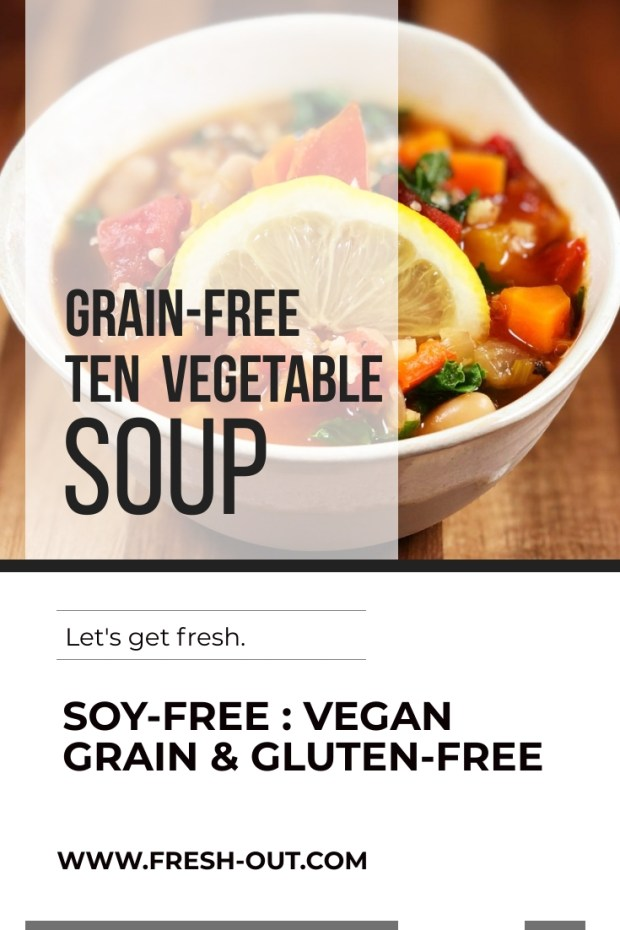 GRAIN-FREE TEN VEGETABLE SOUP