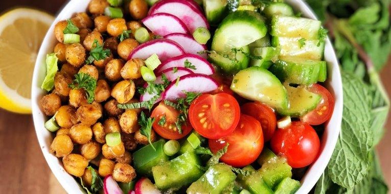 Grain-Free Fattoush Salad