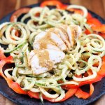 Sesame Cucumber and Red Pepper Noodle Salad